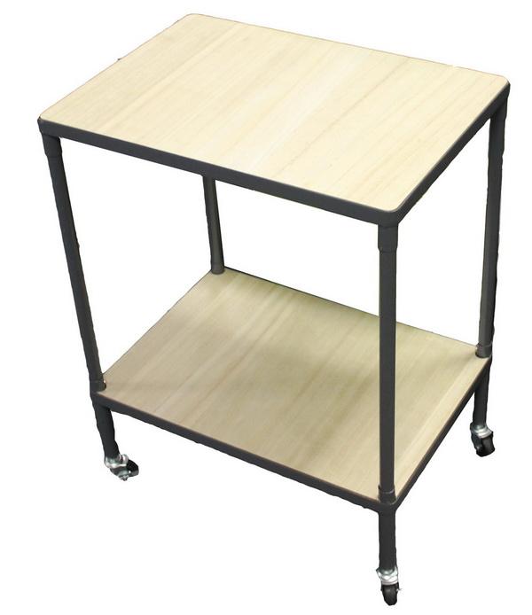 tisch mit rollen rolltisch rollwagen transportwagen. Black Bedroom Furniture Sets. Home Design Ideas