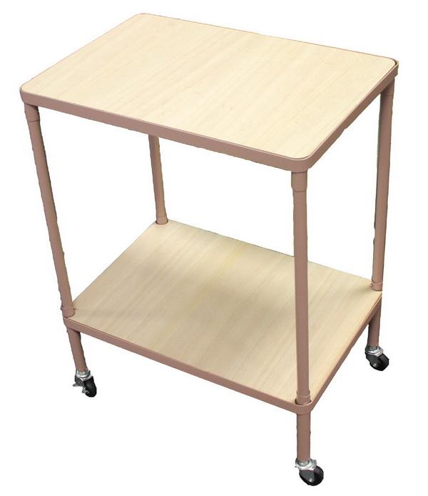 tisch mit rollen rolltisch rollwagen transportwagen beistellwagen allzweckwagen ebay. Black Bedroom Furniture Sets. Home Design Ideas