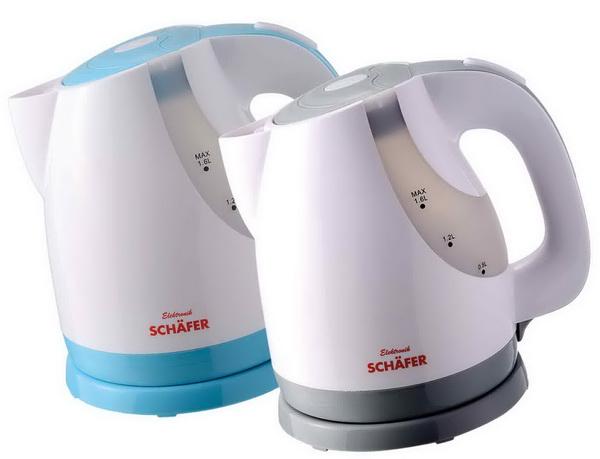 Schäfer 1,6 Liter Wasserkocher 21101 - Farbwahl