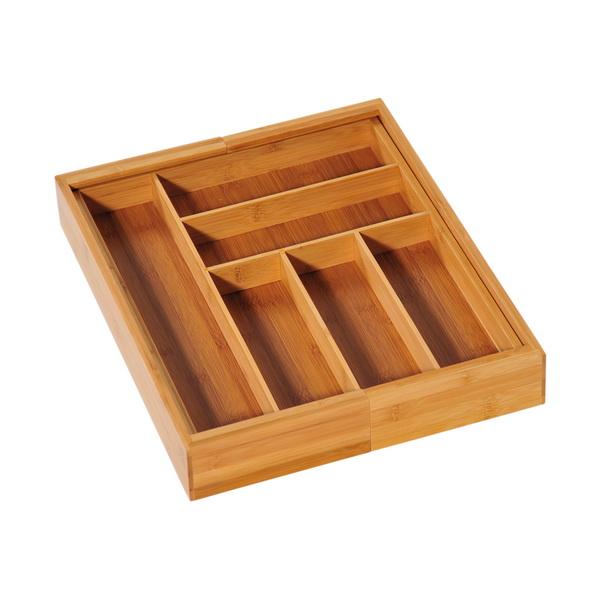 KESPER variabler Holz-Besteckkasten FSC-zertifiziertem Bambus 58085-13