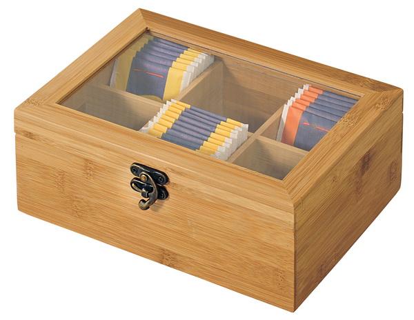 KESPER Teebox mit 6 Fächern 58902