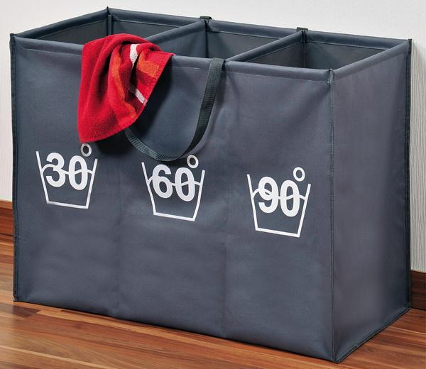 KESPER Wäschesortierer mit 3er Einteilung 89170