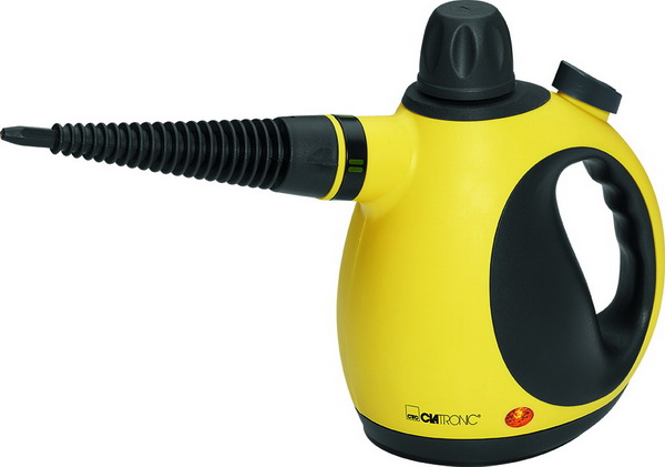 Clatronic Dampfreiniger Handdampfreiniger DR 3653 gelb-schwarz