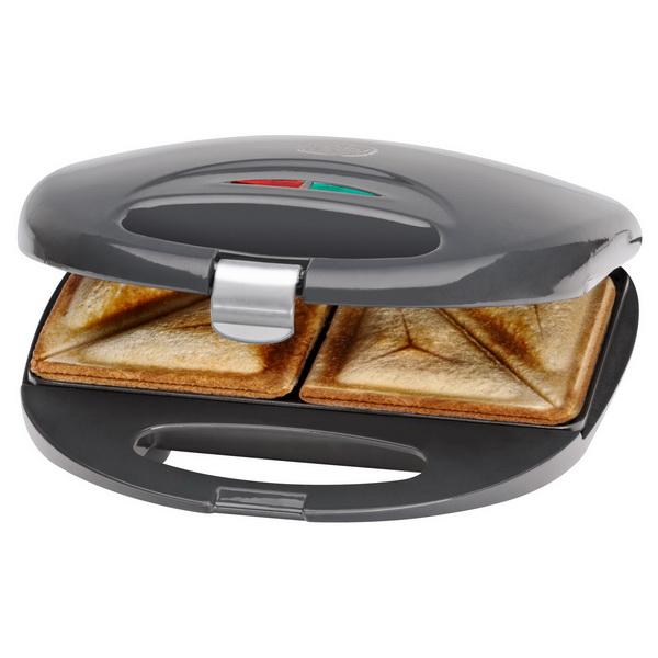 Bomann Sandwichtoaster / Sandwich-Toaster ST 5016 CB GRAU