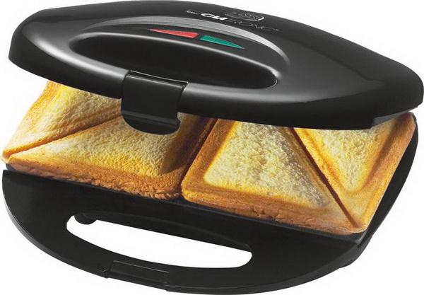 Clatronic Sandwichtoaster / Sandwich-Toaster ST 3477 SCHWARZ