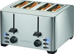 4 scheiben toaster vierschlitztoaster 4 schlitz toastautomat vierscheibentoaster 22305. Black Bedroom Furniture Sets. Home Design Ideas